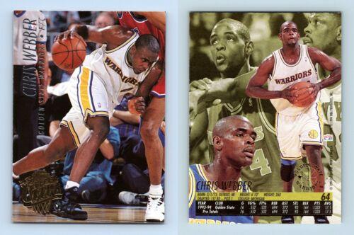 Chris Webber-Warriors #64 FLEER ULTRA 1994-5 Basketball trading card