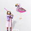 FLAMINGO Party Pinata Pinyata Fun Game Toys Treat Lollies AU STOCK
