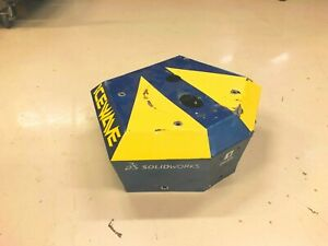 Icewave BattleBots Engine Cover from Season 1 and 2 signed by builder / driver