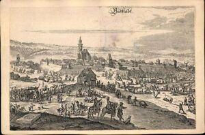Buttstaedt-Grossherzogtum-Sachsen-Weimar-Zeichnung-Ansichtskarte-Postkarte-AK-PK