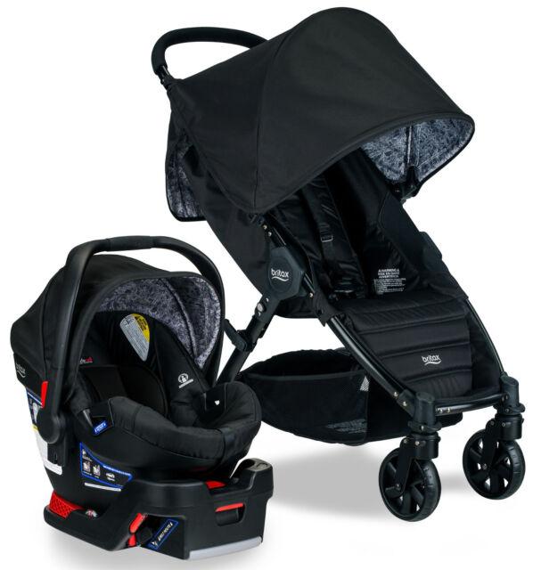 Britax Pathway Stroller B Safe 35 Infant Car Seat Travel System Sketch NEW