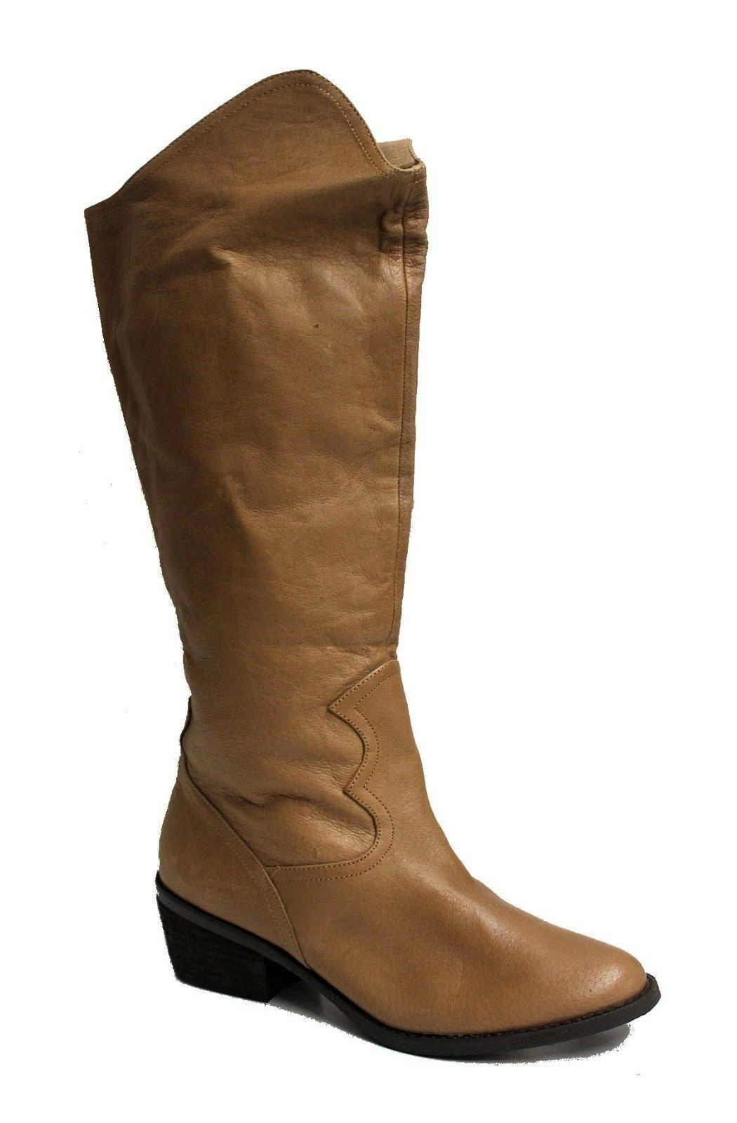 Naughty Monkey Women's Same-Note Boot US L6 R6.5 Mismatched Size Tan NOB