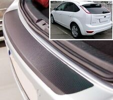 Ford Focus MK2 3/5 puerta Estilo Carbono parachoques trasero Protector