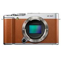 Fujifilm X-M1 16,3 MP Digitalkamera - Braun (Nur Gehäuse)