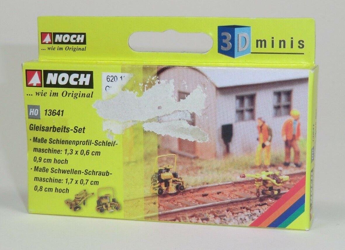 + NEU /& OVP NOCH 13640 H0 Schienenarbeits-Set 3D-minis