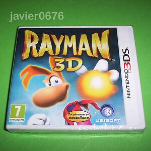 RAYMAN-3D-NUEVO-Y-PRECINTADO-PAL-ESPANA-NINTENDO-3DS