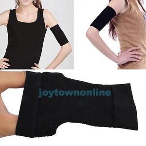 2PCS Sweat Sauna Belt Arm Shaping Shaper Fat Buster Off Cellulite Slim Wrap Band