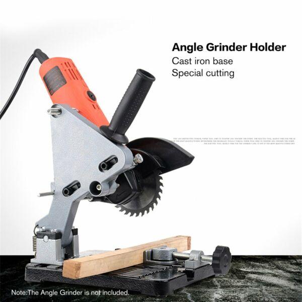 Herzhaft Multi-function Angle Grinder Stand Cutting Machine Bracket Holder Support Js FüR Schnellen Versand