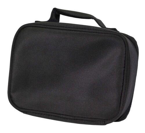 AH-3LBB Rearing Black Stallion Black Insulated School Lunch Box Bag