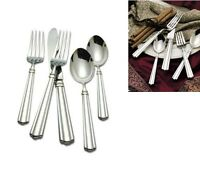 Reed & Barton Preston Service For 8 Plus Serving Set 18/10 Stainless Flatware on sale