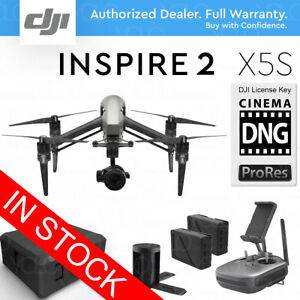 DJI-INSPIRE-2-Drone-w-Zenmuse-X5S-5-2K-20-8MP-CinemaDNG-amp-Apple-ProRes-Licenses