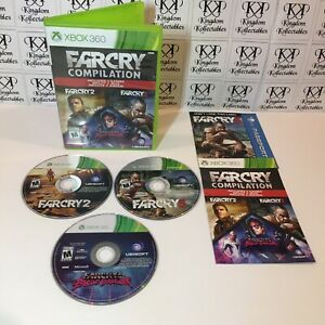 Far Cry Compilation Xbox 360 2014 Complete Fully Tested Free Shipping 8888529071 Ebay