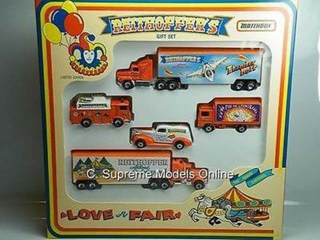 REITHOFFER CIRCUS GIFT SET FUNFAIR LIMITED EDITION 1 64 BOXED EXAMPLE T3412Z (=)