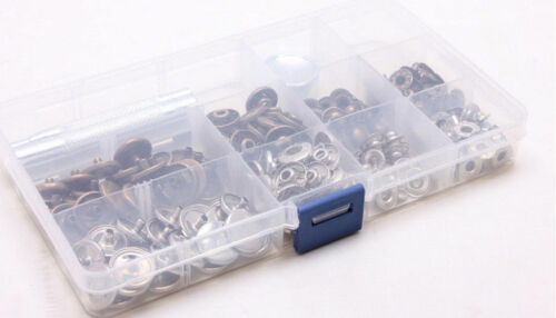 Heavy duty Poppers Snap Fasteners Press Stud Sewing Rivet Clothing Leather Craft