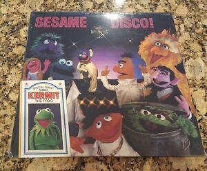 Sesame Disco Lp Vinyl Record Album Sesame Street Bert Ernie Big Bird
