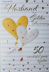 ON OUR GOLDEN WEDDING ANNIVERSARY CARD