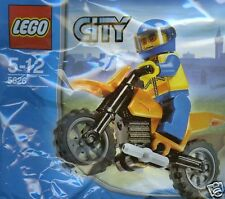 LEGO CITY 5626 Küstenwache Biker Coast Guard Bike  *Rarität*