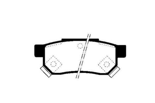 Bremsbeläge Bremsbelagsatz Bremsklötze Hinten 2628