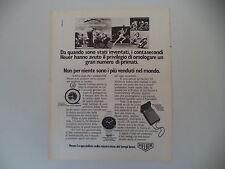advertising Pubblicità 1976 HEUER CRONOGRAFO CARRERA/MICROSPLIT 430/CONTASECONDI