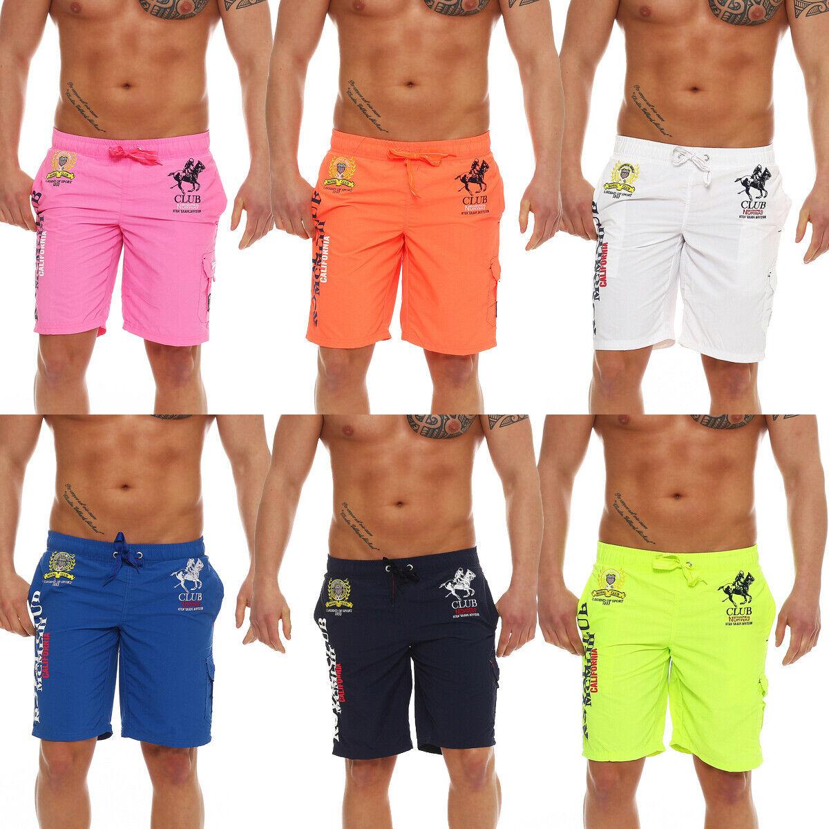 Herren Badeshorts Badehose Shorts Sport Bermudas Schwimmen Swimshort Boardshorts