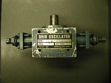 Ohio Oscillator Series H Hydraulic Rotary Actuator Max Press 2000
