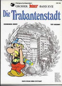 GROSSER-ASTERIX-BAND-XVII-Die-Trabantenstadt-TOP-Z1-ORIGINAL-ERSTAUFLAGE-COMIC