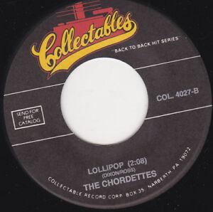 THE-CHORDETTES-Lollipop-Mr-Sandman-7-034-45