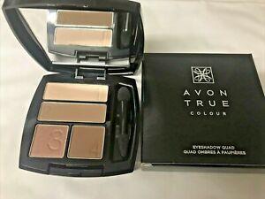 REVIEW: Avon True Colour Eyeshadow Quad in Mocha Latte