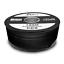 HD Sat Kabel 100m Koax 135 dB 10 x F Stecker 10 Gummitülle schwarz 4K TV ARLI 3D
