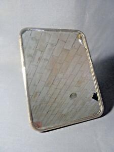 Détails sur Ancien miroir, déco de salle de bain vintage, miroir vintage  old french mirror