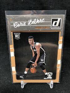 2016-17-Panini-Donruss-167-Caris-LeVert-RC-Rookie-Card-Brooklyn-Nets-NBA-R64