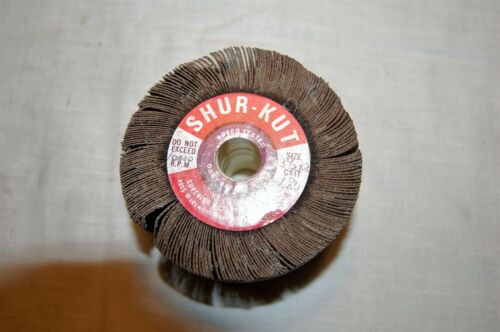 """Shur-Kut 3-1//2/"""" X 2/"""" X 5//8/"""" Flap Wheel 180 Grit"""
