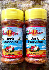 2 island spice jamaican jerk seasoning spicey bbq chicken pork lamb turkey fish