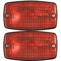 Pair (2) Led Stop Lights For Ezgo, Yahama, Club Car Golf Cart Brake Lights