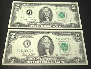 "1981 /""Boston/"" $1 Federal Reserve Note /""Crisp Gem New/"""
