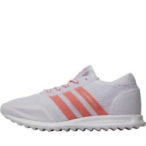 White Adidas Pink Los Originals Sizes Womens Angeles Various Mesh Trainers Dusty YqPYwrR