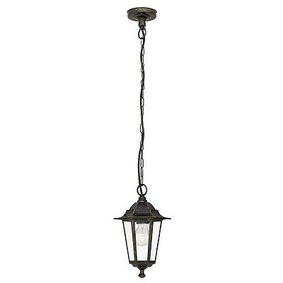 Lámpara exterior Luz en suspensión, lámpara colgante en antiguo