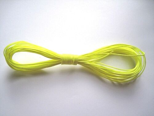 fluorescent jaune ou rose Guy Line camping Dyneema Cordon 1.3 mm tente bâche.