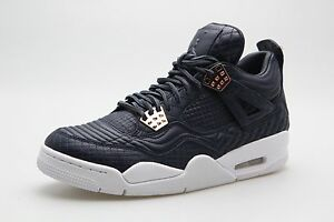 ea7af3640e74a5 819139-402 Men Air Jordan 4 IV Retro Pinnacle Premium Obsidian ...