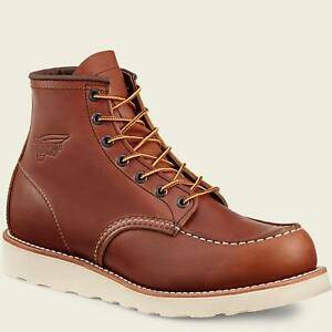 Red-Wing-TRACTION-TRED-6-034-Mens-Oro-iginal-Leather-10875-MADE-IN-USA-Moc-Boots