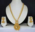 Indian Jewelry Bollywood New women Necklace set Ethni Ethnic Pendant Crystals m1