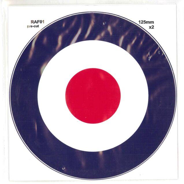 RAF Roundels Twin Packs  Vinyl Decals RAF01