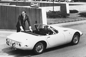 Sean Connery You Only Live Twice 11x17 Mini Poster Toyota 200GT ...