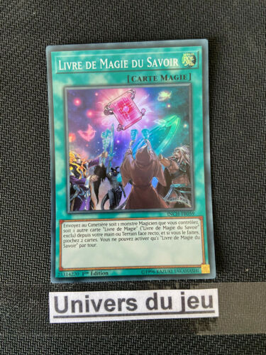 Yu-Gi-Oh Livre De Magie Du Savoir INCH-FR059