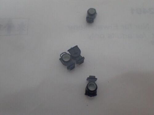 Ersatzteil  NEU Märklin E 12512401 Lampe Lampengehäuse 4 Stück für Glaskasten