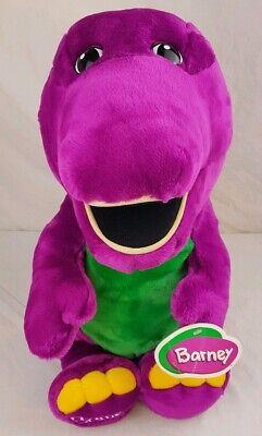 Vintage 1990 Barney Plush Backyard Gang Purple Dinosaur 24 ...
