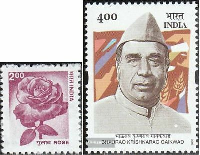 Mnh 2002 Patrimonio Naturale Gaikwad High Quality And Low Overhead Have An Inquiring Mind India 1914,1915 completa Edizione