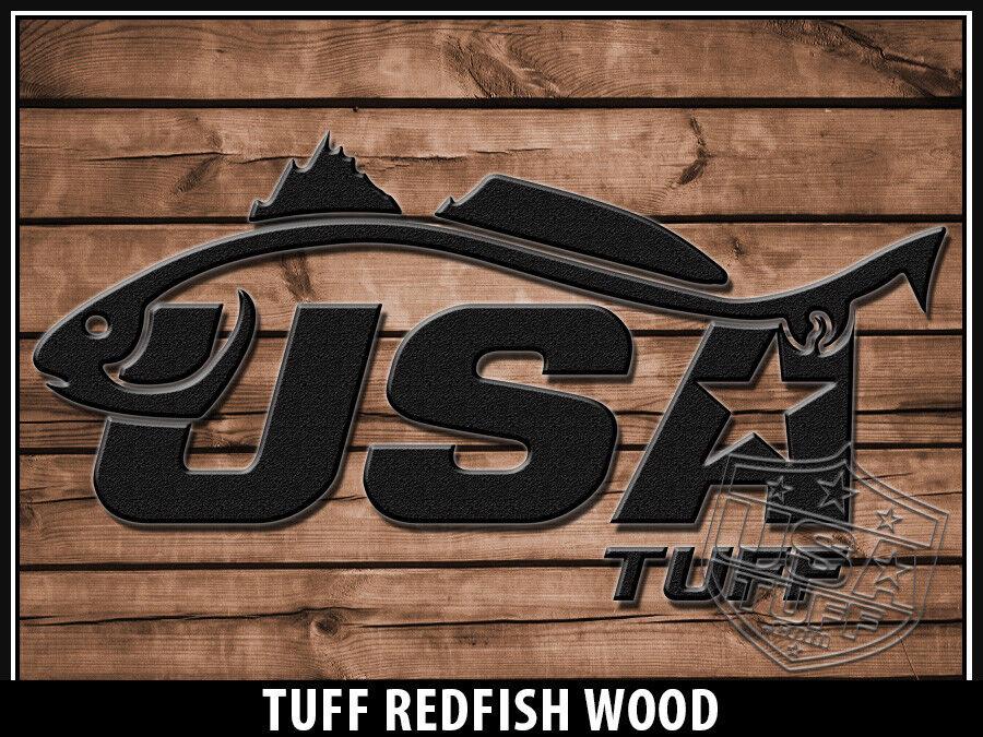 USATuff Cooler Wrap Decal 'Fits New Mold' RTIC WD 45QT FULL ROTFish Wood WD RTIC 827e92