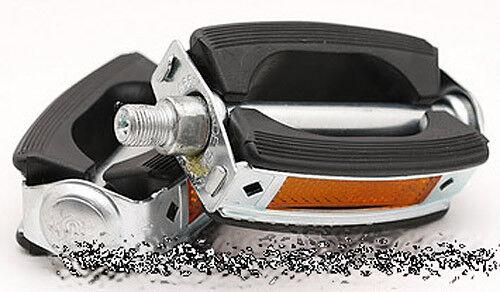 "1//2/"" Bolt Electra Style Ball Bearing Rubber Pedal Kit for Beach Cruiser Bikes"