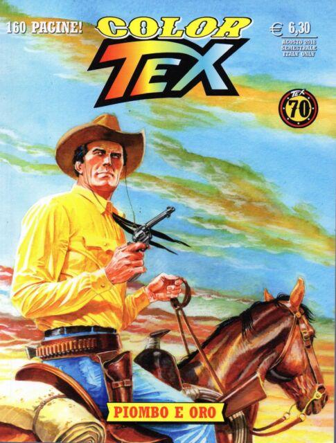Color Tex 13.Piombo e oro.Sergio Bonelli Editore